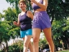 Two-happy-women-walking-exercising