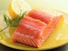 Salmon-on-Yellow-Plate-w-Dill-Sprig
