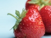 strawberryies-with-blue-background