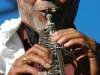Saxophone-being-played-closeup-of-mouth